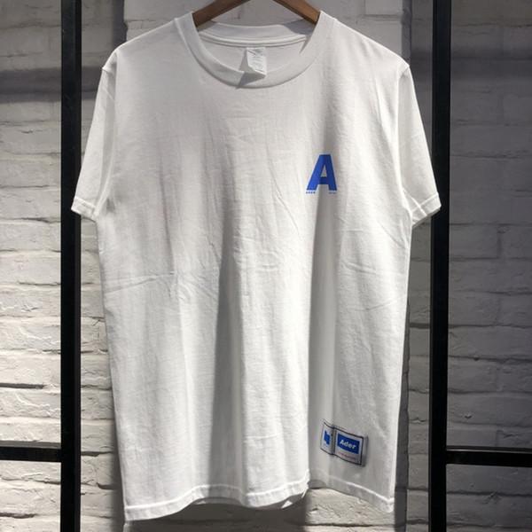 2019 Adererror Erkek Kadın T Shirt En Kaliteli mektup Bir yaz Stil Moda Rahat Yeni Ader Hata Adererror T Shirt Üst Tee