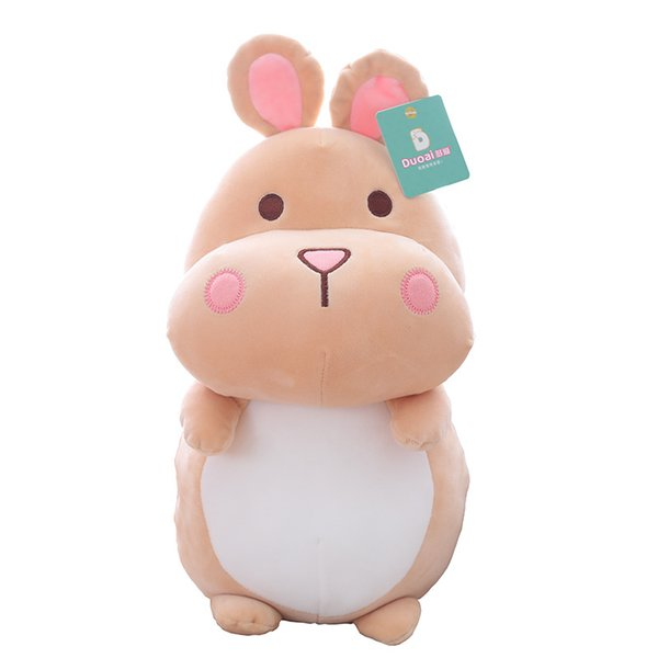 Super Cute Fat Hamster Doll Stuffed Animals Toys 24CM Hamster Sofa Pillow Soft Toys Boy Girl for Children New Year's Gift