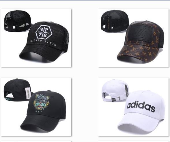 2019 Latest Brand Baseball Cap Skull Luxury adjustable ball caps strapback Softball hats authentic snapback hats team Golf ball Caps DF15G20