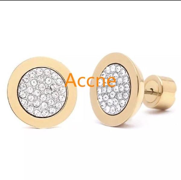 Band Yeni Kadın Saplama Küpe 2019 Yeni 925 Ayar Gümüş M Simüle Diamonds Nişan Güzel Takı Kristal Kulak Yüzük