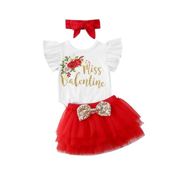 Infant Baby Girls My 1st Birthday Party Tutu Dress Bowknot Romper Skirt Outfits