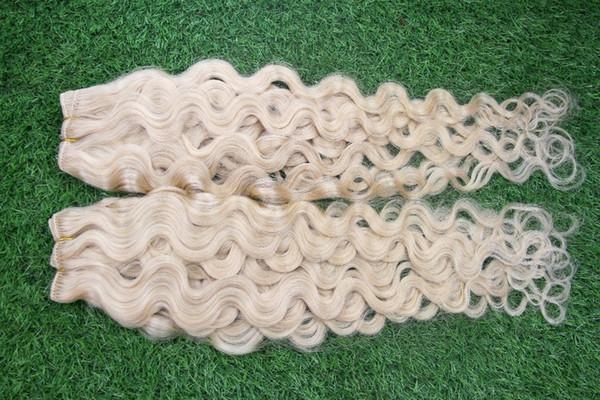 Reine Farbe unverarbeitete doppelte Schusshaarverlängerung 10-30 Zoll Körperwellen-Haar, das brasilianische doppelte Schusshaarverlängerungen spinnt