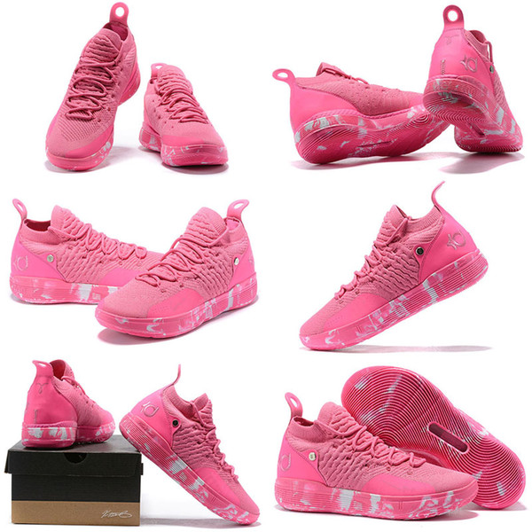 Cheap Mens KD 11 Basketball Shoes For Sale Aunt Pearl Pink Red Triple Black Easter Yellow KD11 Kevin Durant XI Sneakers