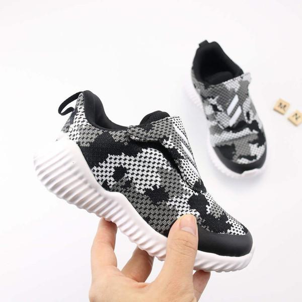 Großhandel 2019 Heiße Kinder Schuhe Baby Kleinkind Turnschuhe Kanye West Alpha Laufschuhe Säuglingskinder Jungen Und Mädchen Chaussures Gießen Enfants