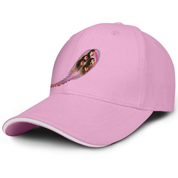Deep Purple Fireball pink man sandwich hat truck driver design fit golf hat design yourself retro custom cap unique personalized san