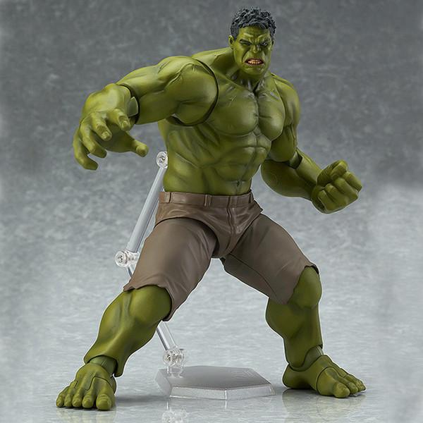 Marvel Super Hero Toys The Avenger 17CM Thor Captain America Wolverine Spider Man Iron Man Hulk PVC Action Figure Toy Dolls