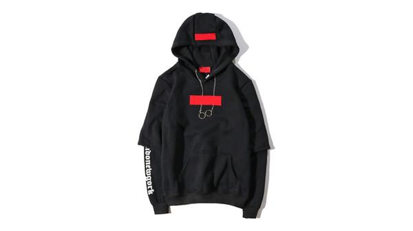19ss new men designer box logo brand sweater trend casual wild women hoodie plus velvet comfort couple hoodies street hip hop hot pullover