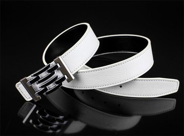 Hot new g # style belt jeans para hombres cinturón para hombres hebilla de metal 100cm-125cm como regalo 88799