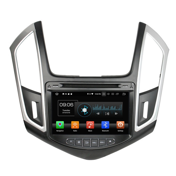 "4GB RAM 64GB ROM PX5 Octa Core 2 din 8"" Android 8.0 Car DVD Radio GPS for Chevrolet Cruze 2013 2014 2015 Bluetooth WIFI USB Mirror-link"