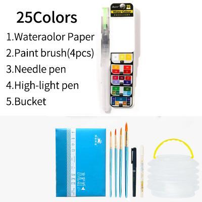 25 Colors set