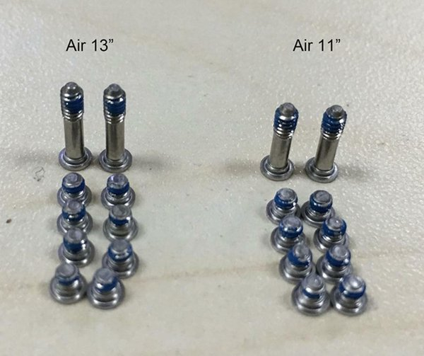 Air 13'' A1369 A1466 bottom screws