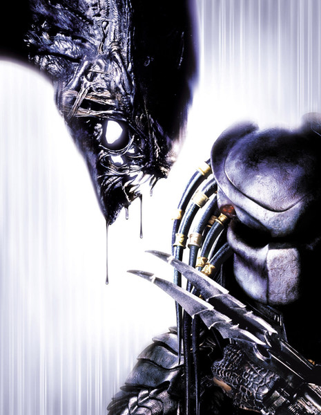 Alien Vs Predator Art Silk Print Poster