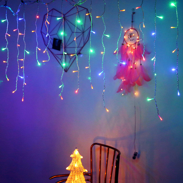 String Net Icicle LED Lights Party Xmas Décor Blue Lights All Types
