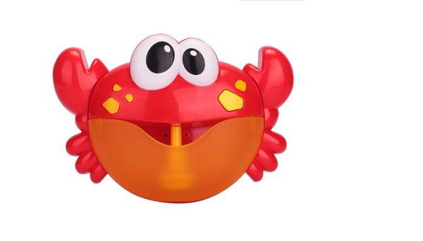 Jouets de bain bébé jouets de crabe bulle enfants drôle salle de bains musique machine à bulles baignoire baignoire savon machine enfants salle de bains