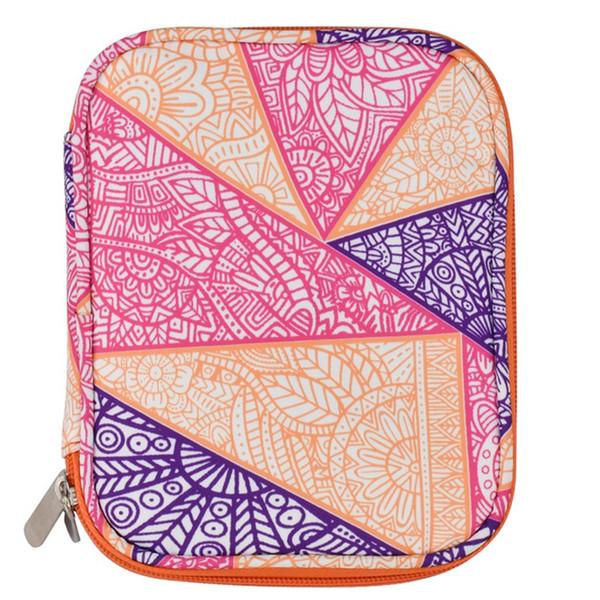 Empty Crochet Hook Bag Storage Pouch Knitting Kit Case Organizer Bag For Sewing Crochet Needles Scissors Ruler Accessory Case
