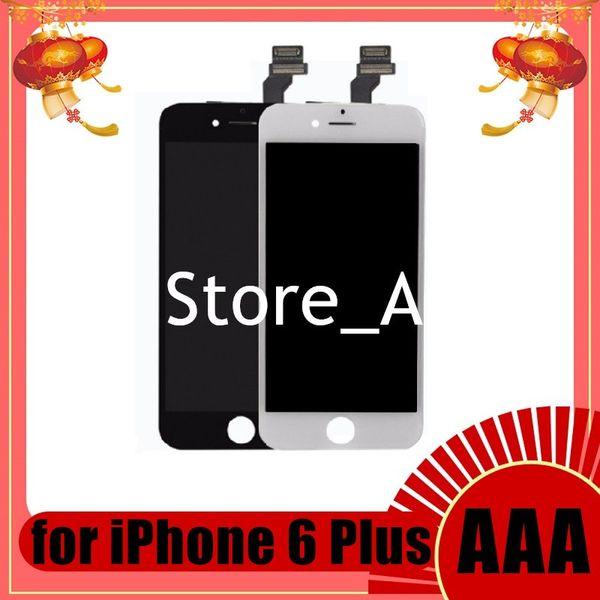Grade A +++ für iPhone 6 6 Plus LCD Display Touchscreen Digitizer mit Vollmontage Ersatzteil Ersatzteile 100% gut getestet