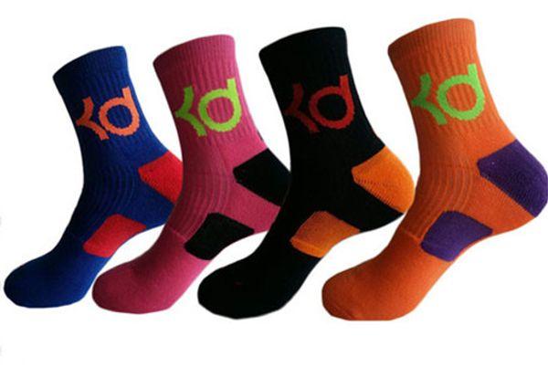 New cotton thick bottom towel Deodorant movement socks for Men KD elite basketball socks football sport team socks wholesales