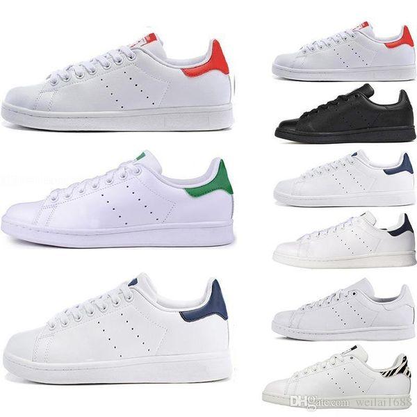 Top Damenschuhe Herren neue Stan Fashion Smith Sneakers Casual Leder Sportschuhe Mode Luxus Herren Damen Designer Sandalen sho