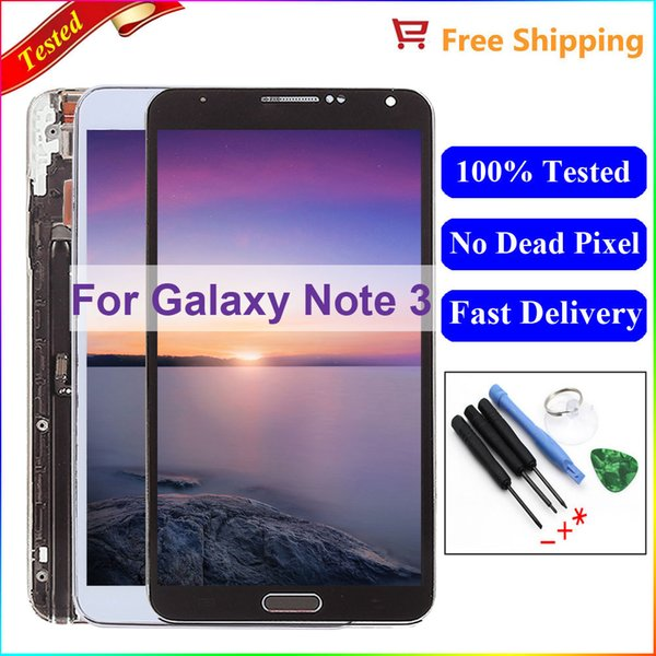 2018 N9005 Lcd For Samsung Note 3 N9005 LCD Display Digitizer With Frame  Assembly For Samsung Note 3 Lcd For Samsung Note 3 Screen From  Fixerparts_dh,