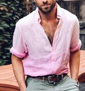 Camicia da uomo formale Camicia da uomo a righe Designer Camicia casual di lusso Camicia regular fit