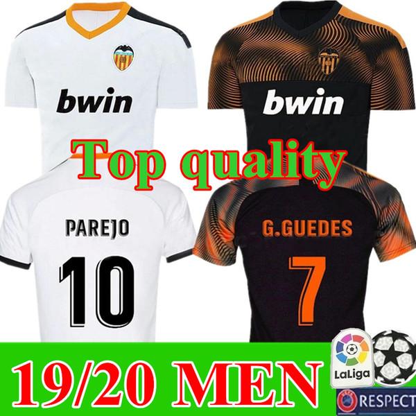 New 2019 2020 home away Valencia cf Soccer Jerseys third Camiseta equipacion del Valencia 19 20 Best THAILAND Quality Football Shirt