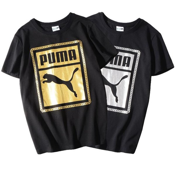 2019 New Fashion T Shirts For Men brand T-shirt With Letters Animal Printted Summer Short Sleeve Mens T-Shirt Tops Tee Clothing S-2XL.