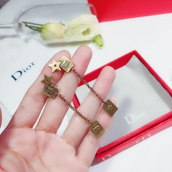 Ladies Fashion Designer Earrings Simple And Versatile Temperament Dating Earrings 19 Years New Long Earrings