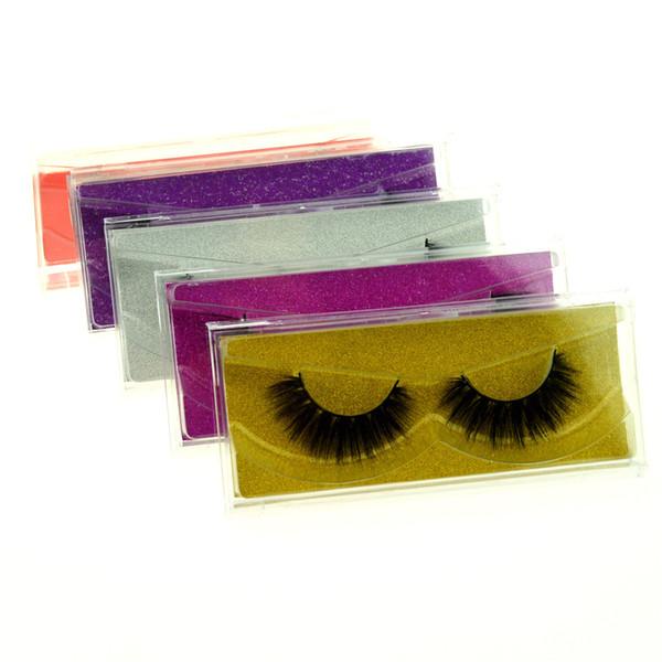 3D Nerz Wimpern Falsche Wimpern Natürliche Lange Gefälschte Wimpernverlängerung Dickes Kreuz Faux 3d Nerz Wimpern Augen Make-up GGA1759