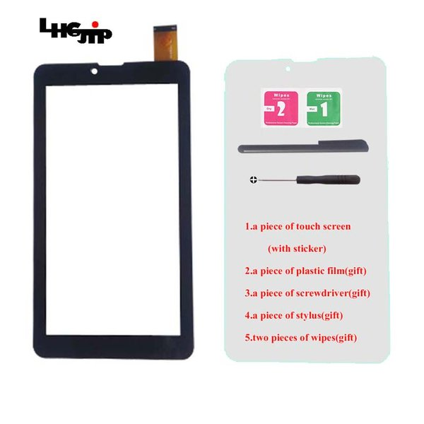 """New Touch Screen for 7"""" Digma HiT HT 7070MG Oysters T72 T72M 3G Tablet Digitizer Glass Sensor Panel Replacement"""