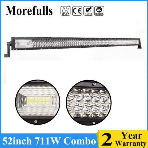 7D+Tri Row 52inch 711W LED Work Light Bar Spot Flood Combo Jeep Truck Boat  52'' Body Spare Parts Buy Aftermarket Car Parts From Cd1a2s1s335, $36 18|