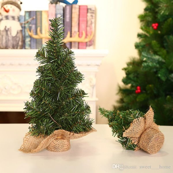 Compre 2018 Nuevo Decorar El árbol De Navidad 20 Cm Mini Escritorio Adorno Para El árbol De Navidad Tienda De Escaparate Envío Gratis A 239 Del
