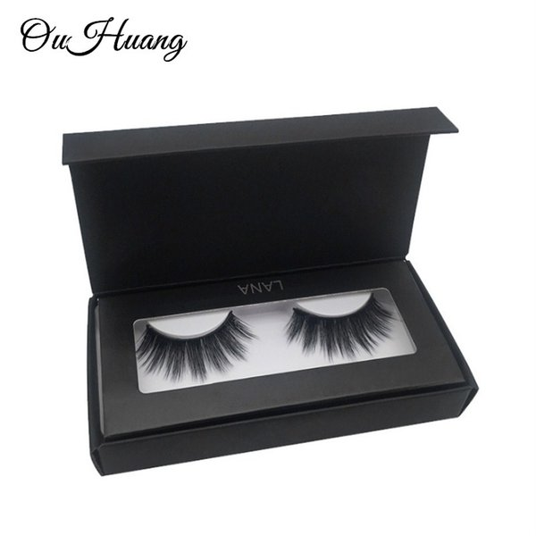 1 Box 3D Faux Mink Hair Eyelashes Handmade False Lashes Reusable False Eyelashes Cilios Thick 3D Mink Lashes Maquiagem Makeup