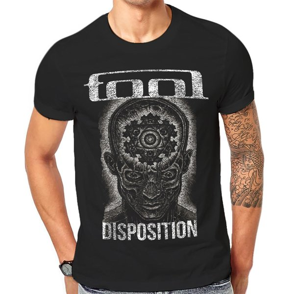 Tool T Shirt Cool New Unisex Black Graphic Print Heavy Rock Band Tees 1 - A - 201 O - Neck Hipster T Shirts