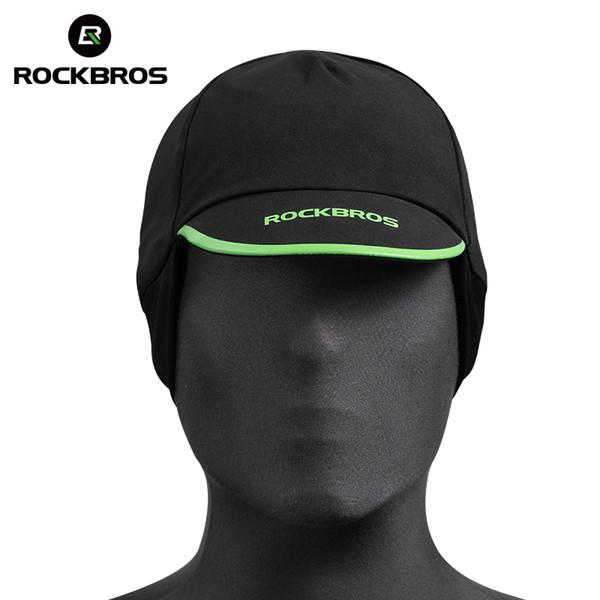 RockBros Black Winter Cycling Cap Thermal Fleece Outdoor Sport Hat Earmuffs 1*