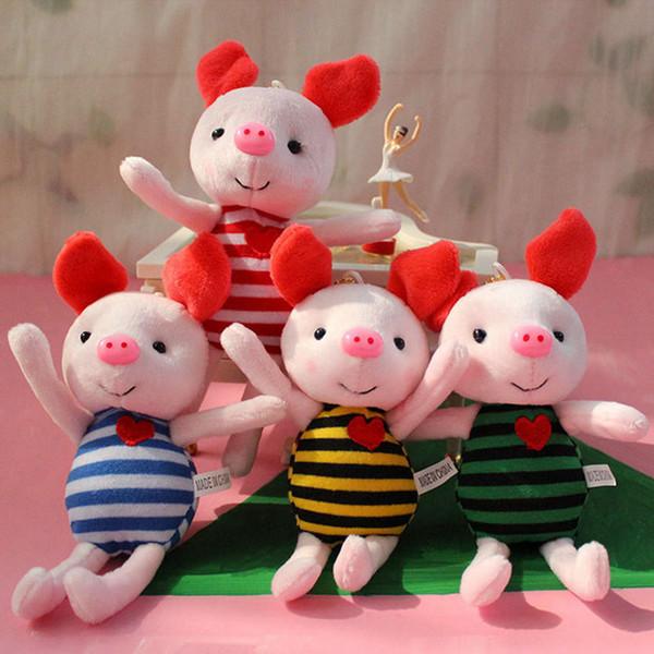 Soft Stuffed Animals Toys Newest Cute Plush Pig Toy Kawaii Baby Girls Boys Birthday Gifts Mini Piggy Bag Pendant Plush Dolls