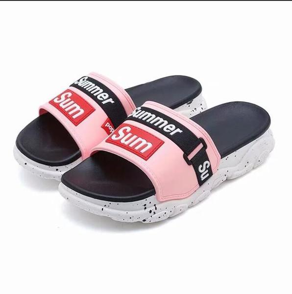 Best Mens Slippers 2020.2020 New Designer Slipper Gear Bottoms Mens Striped Sandals Causal Non Slip Summer Huaraches Slippers Flip Flops Slipper Best Quality 36 44 Kids