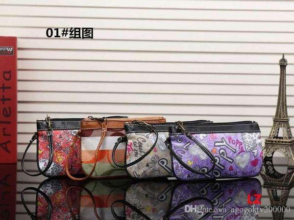 2019 new fashion hot trend handbags ladies wallet long zipper simple mobile phone clutch bag wrist band