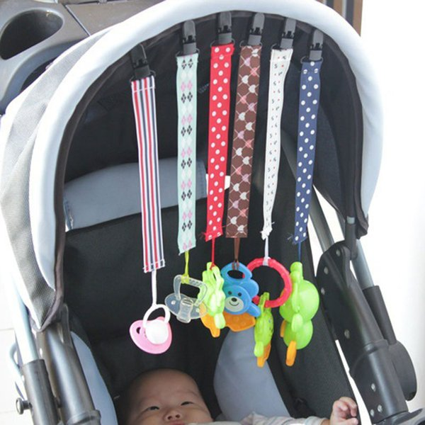 New Baby Pacifier Clips Chain Toys Teether Pacifier Anti-drop Rope Kids Stroller Accessories Lanyard Free Shipping
