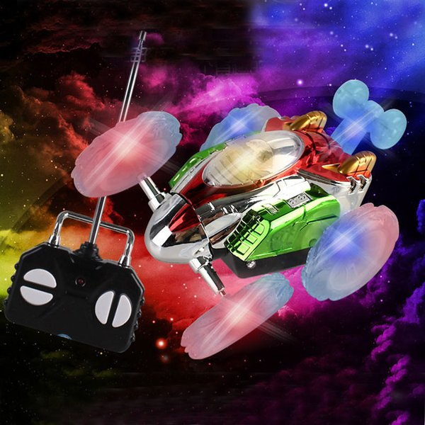 Electric RC Car Remote Control Toy Monster Dump Truck Stunt Car Dancing 360 Degree Rotating Wheel Vehicle Motor Toys For Child