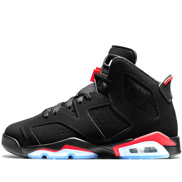 Yeni varış 6 6 s erkek basketbol ayakkabı INFRARED UNC MAROON TINKER HATFIELD SIYAH KEDI CARMINE GATORADE erkekler spor sneakers / l;
