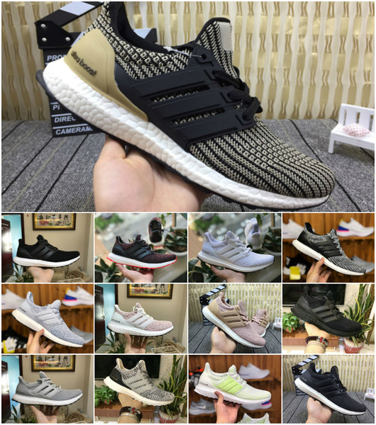 2019 New Ultraboost 3.0 4.0 Sports Shoes Men Women High Quality Chaussures Ultra Boost 4 III White Black Athletic Casual Luxury Sneakers