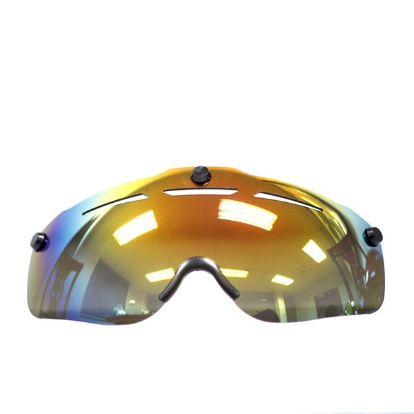 Mens cycling helmet lens visor spare 3 version Cycling Glasses 2018 Bicycle helmet Sunglasses spare Cycling Eyewear Bike Lentes #214586