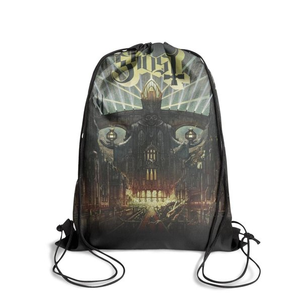 Drawstring Sports Backpack Infestissumam Album by Ghost postercool daily athletic Pull String Backpack