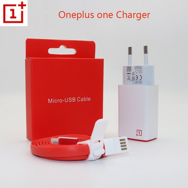 Original OnePlus One Charger One plus 1 X Smartphone 5V / 2A USB-Wand-Adapter Micro USB Datenkabel Lade