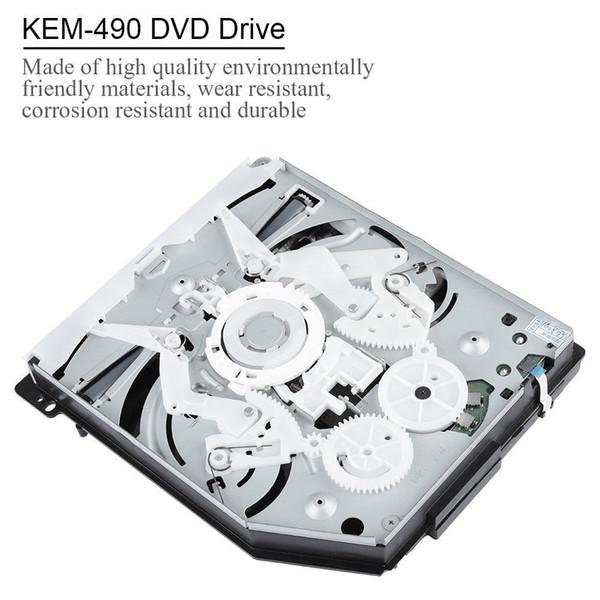 Enclosure Disk Drive Blue Ray Durevole portatile Console di gioco Parti esterne Sostituzione DVD CD singolo occhio KEM-490