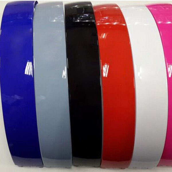Brillo brillante mezcla de color superior Auriculares Banda de plástico banda de cabeza piezas de repuesto para SOLO solo 2.0 3.0 Auriculares inalámbricos Accesorios