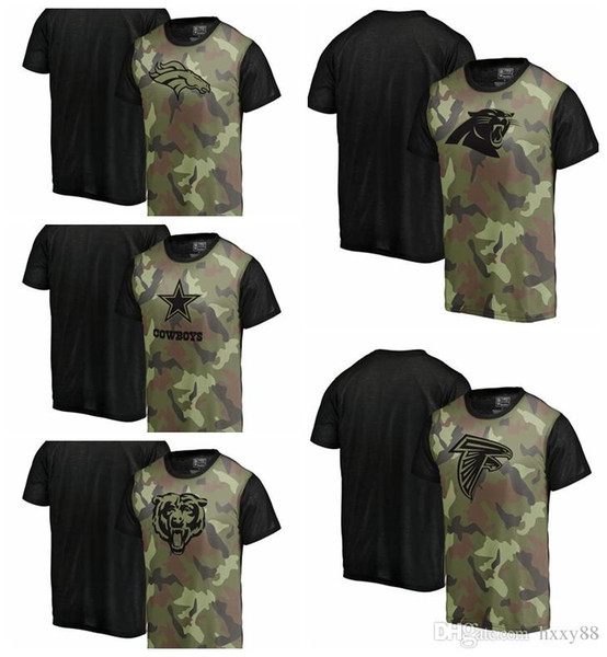 more photos 4b0af f77fd 2019 Pro Line By Fanatics Branded Denver Broncos Dallas Cowboys Chicago  Bears Carolina Panthers Atlanta Falcons Camo Blast Sublimated T Shirt From  ...