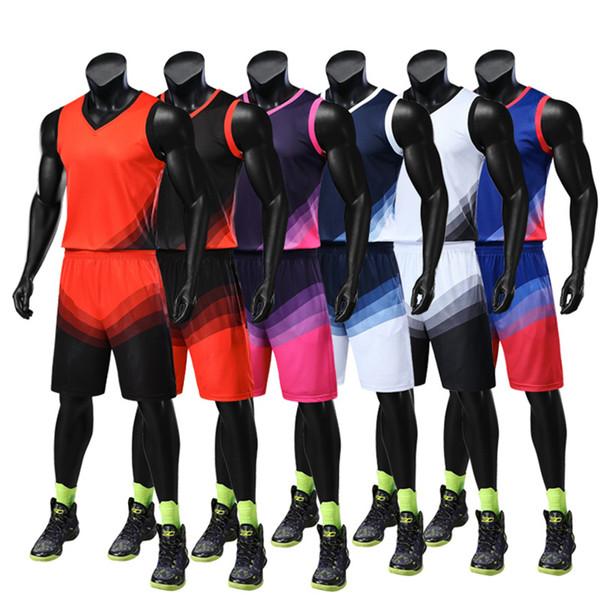 Uniformes de basket-ball personnalisés Compétition Sportswear Lumière Conseil de basket-ball Costume uniforme Logo imprimable à séchage rapide Breathabl XXXXL jooyoo