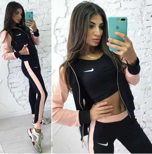 112 Frauensportanzug Hoodies Sweatshirt + Hose Laufsport-Trainingsanzug 2 Stück Jogging-Sets survêtem femme clothing
