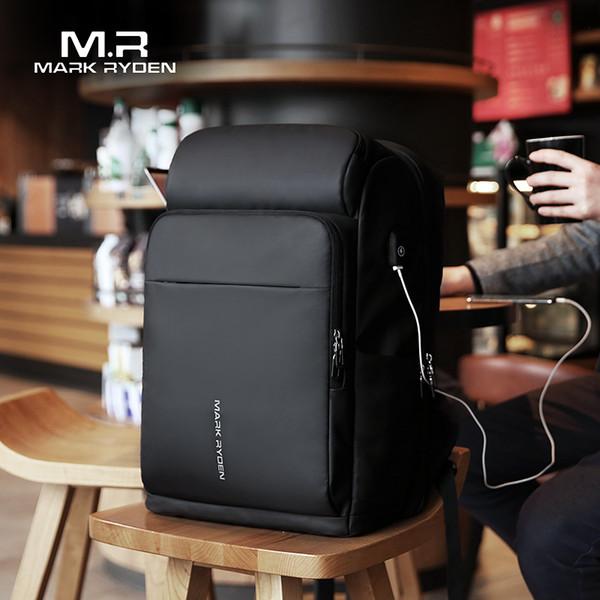 Mark Ryden Men Backpack Multifunction Usb Charging 17 Inch Laptop Bag Large Capacity Waterproof Travel Bags For Men Y19061004